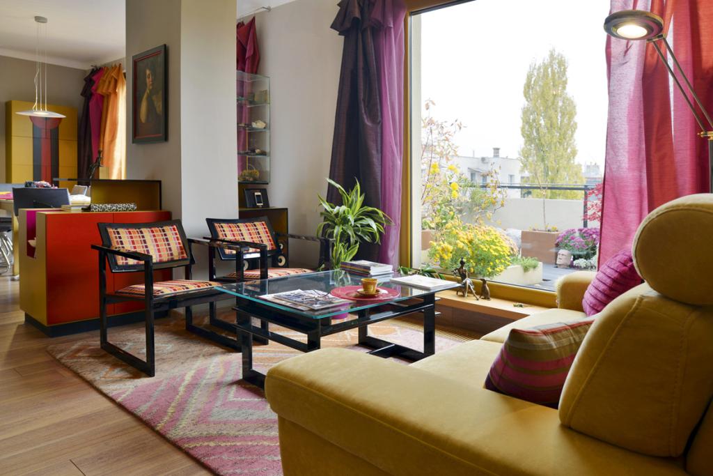 Belbudai teraszos lakás